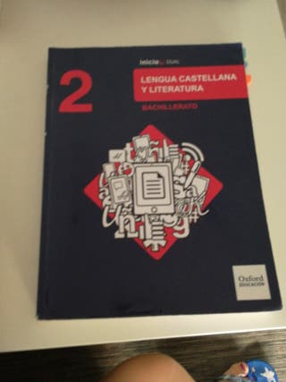 libro castellano 2 bachiller