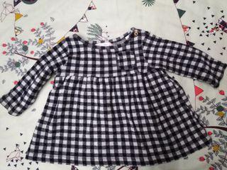 vestido zara 3 meses