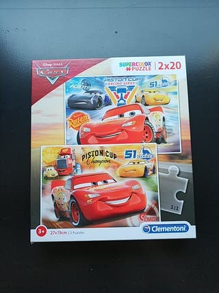2 Puzzles Cars (20)
