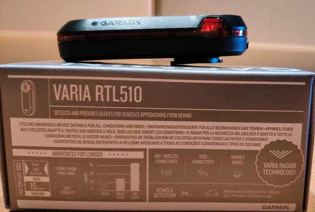 SensorLuz Garmin Varia RTL510 (en Garantía)