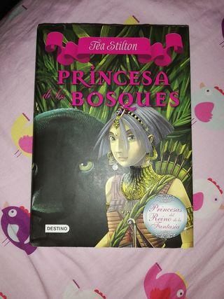 Libro la princesa de los bosques