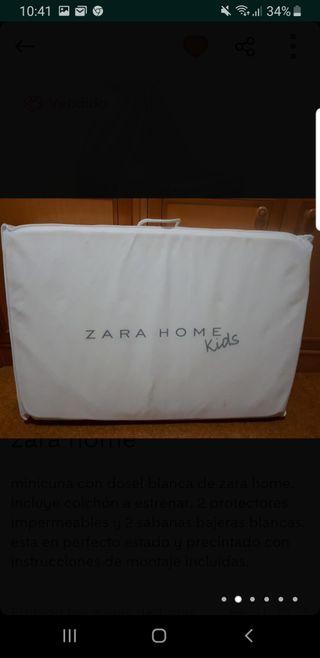 Minicuna con dosel de Zara Home