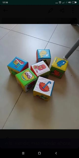 cubos apilables bebe