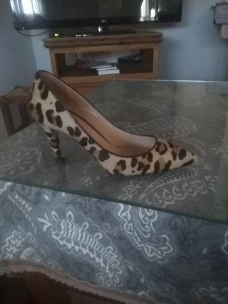 zapatos de tigre