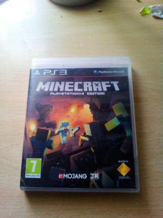 PS3 MINECRAFT PS3 PLAYSATION 3 EDITION
