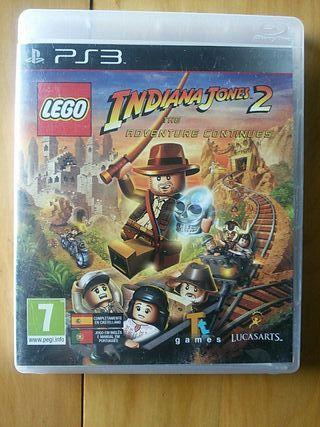 Juegos PS3 (LEGO Indiana Jones 2)