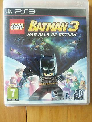 Juegos PS3 (LEGO Batman 3 Más Allá De Gotham)