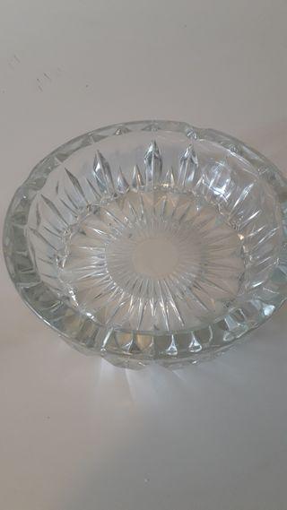Cenicero grande de Cristal