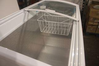 Arcón congelador 338 Litros puertas cristal