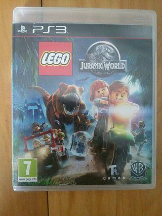 Juegos PS3 (LEGO Jurassic World)