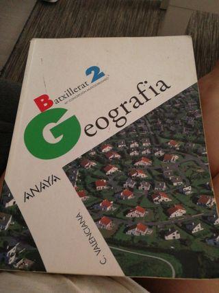 libro geografía 2 bachiller
