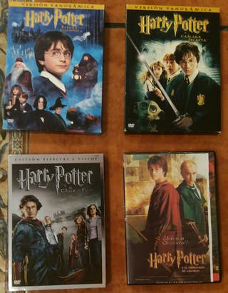 Harry Potter DVds Edición Limitada