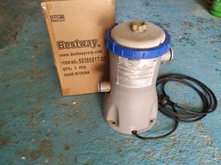 2 Depuradoras de filtro Bestway II para piscina