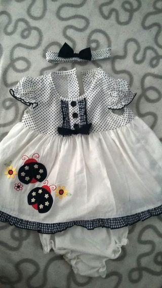 Vestido de verano para bebe