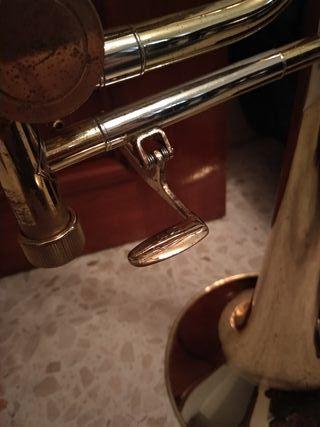 Trombón de vara