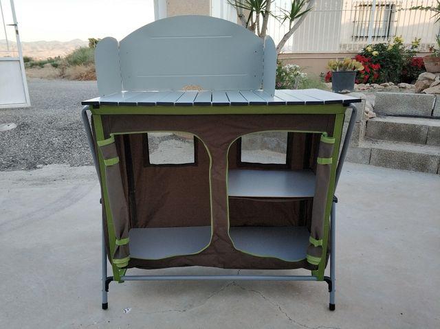 Mueble de cocina camping (1 uso) de segunda mano por 40 € en ...