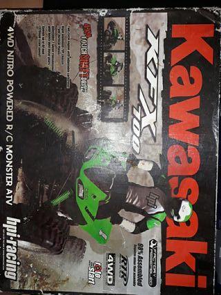 kawasaki kfx de rc de gasolina