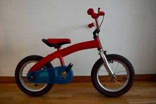 Bicicleta infantil aprendizaje Bike in progress