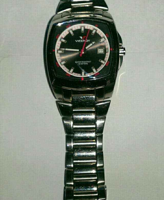 Viceroy cuarzo reloj hombre
