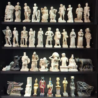 Colección 40 Esculturas Mitología Griega/Romana...