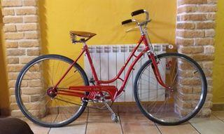 bicicleta orbea de frenos de varillas