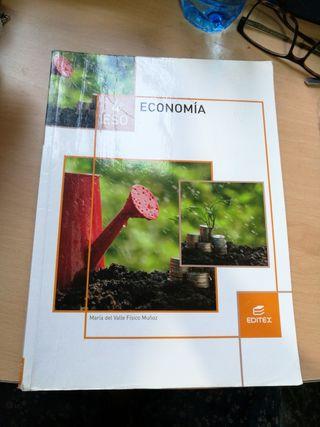 Libro Economía 4 ESO Ed.Editex