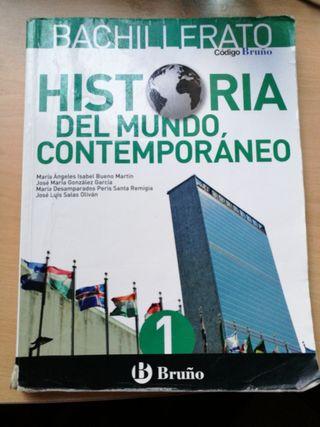 Libro Historia. 1° Bachillerato Ed.Bruño