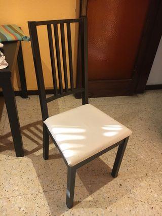 Sillas de comedor Ikea de segunda mano en WALLAPOP