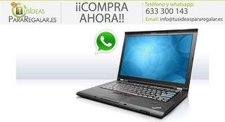 Portátil Lenovo T410s, I5 / Disco SSD / Wifi / Cam