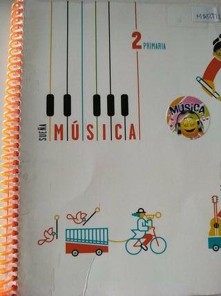 Libro música 2 primaria Edelvives