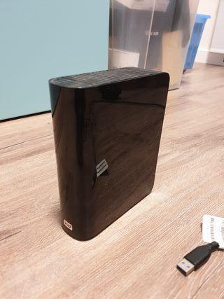 Disco duro externo WD MY BOOK 1.5TB seminuevo
