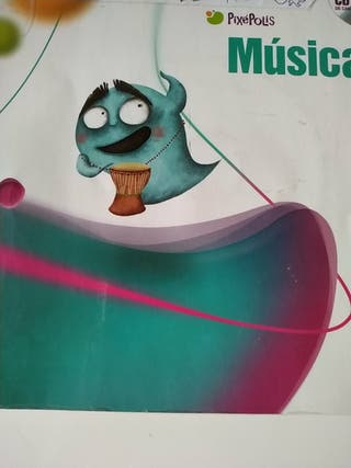 Libro música 1 primaria Pixepolis