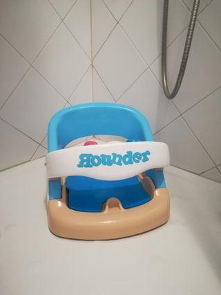 Asiento bañera o ducha para el bebé