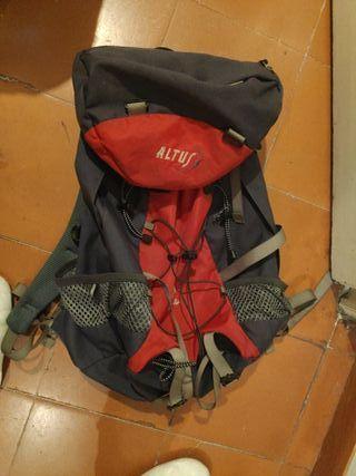 mochila altus viajero capacidad