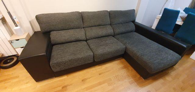 Sofá chaise longue de tienda Kibuc