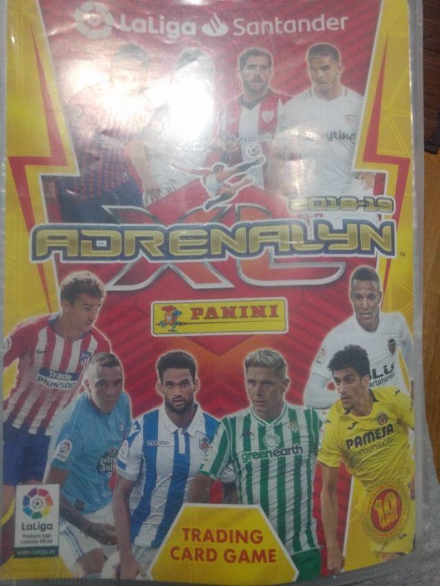 Cromos Adrenalyn XL 2018-2019