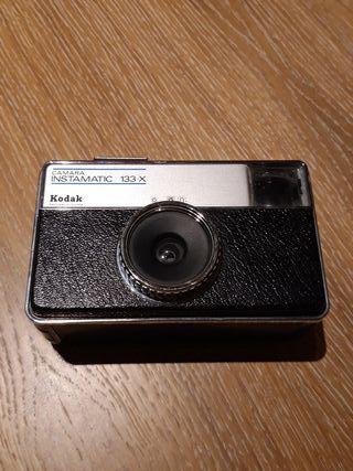 cámara de fotos antigua Kodak instamatic