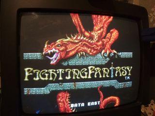 Placa Jamma Fighting Fantasy original