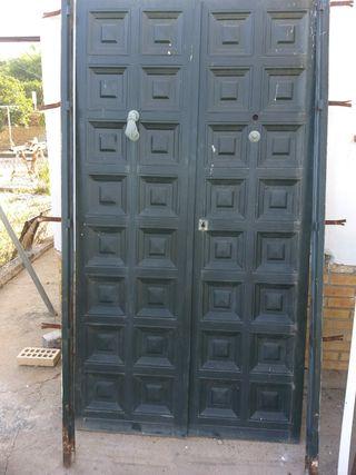 Puertas de hierro de segunda mano en wallapop for Puerta hierro segunda mano