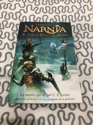 Libro Crónicas Narnia león bruja armario de Lewis