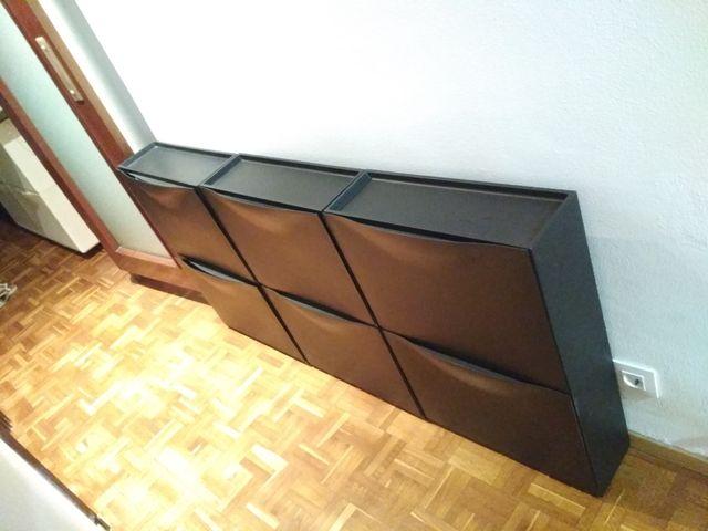Zapateros TRONES de Ikea