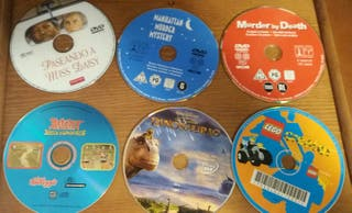 DVds son carátulas