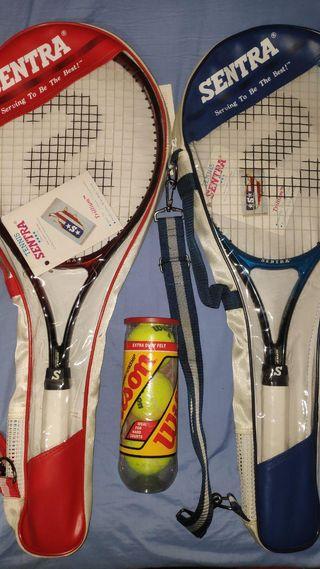 Raquetas tenis Sentra NUEVAS
