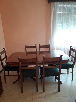 Mesa extensible comedor salon