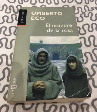 Libro El nombre de la rosa Umberto Eco Plaza Janes