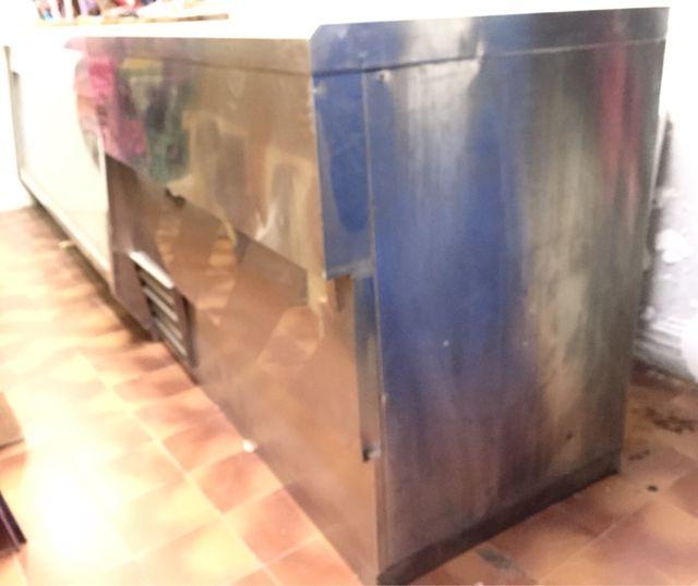 Barra mostrador cámara frigorífica