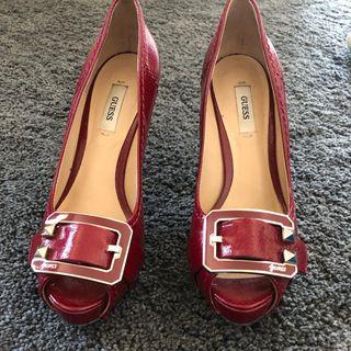 Zapatos Provincia Rojos Mano Tacón De En La Segunda Barcelona Yb7gyf6v