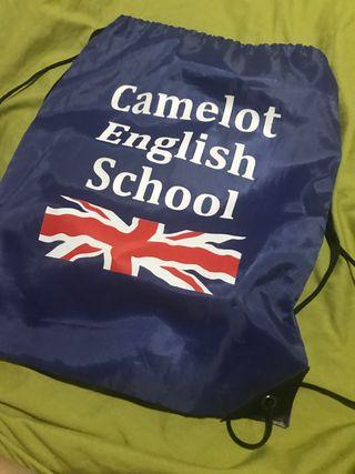MOCHILA CAMELOT ENGLISH SCHOLL
