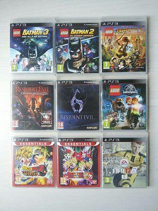 Juegos PS3 (10 EUR X UNIDAD)