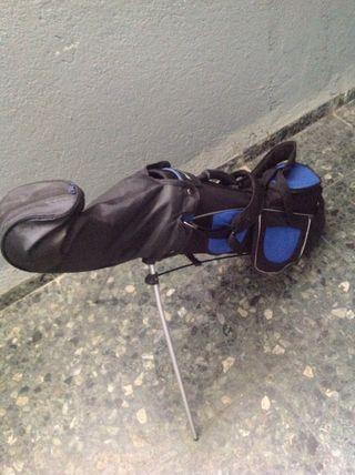 Bolsa + palos golf niño